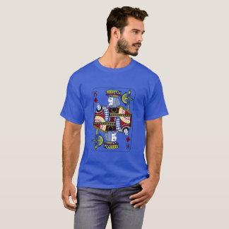 """""""König des Diamant-"""" königliches Blau-T - Shirt"""