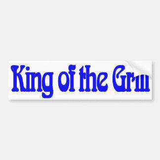 König des Grills Autosticker