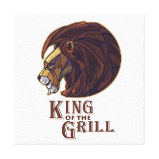 König des Grills Gespannte Galerie Drucke