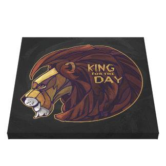 König für den Tag Gespannter Galerie Druck