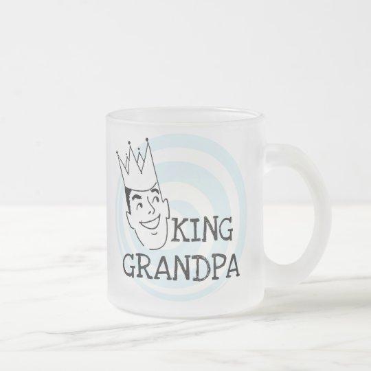 König Grandpa T-shirts und Geschenke Mattglastasse