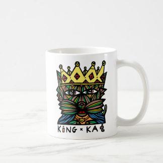 """""""König Kat"""" 11 Unze-Klassiker-Tasse Kaffeetasse"""