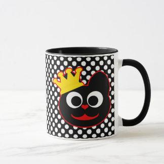 König Kat Red Tasse