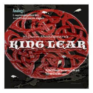 König Lear Analogy Poster