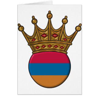 König Of Armenien Karte