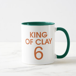 KÖNIG OF CLAY 6 TASSE