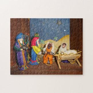 König-WeihnachtsGeburt Christi Jesuss Mary drei
