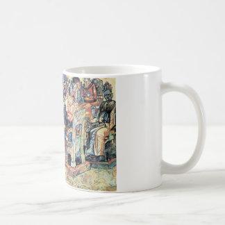 Könige Feast durch Pavel Filonov Kaffeetasse