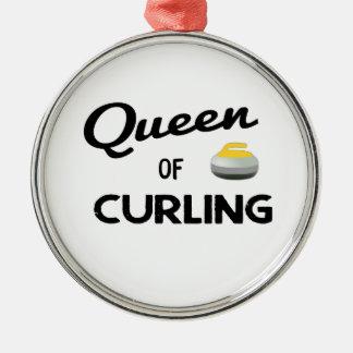 Königin der kräuselnverzierung silbernes ornament