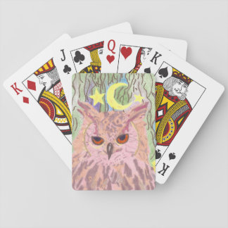 Königin der NachtGirly Eulen-Spielkarten Spielkarten