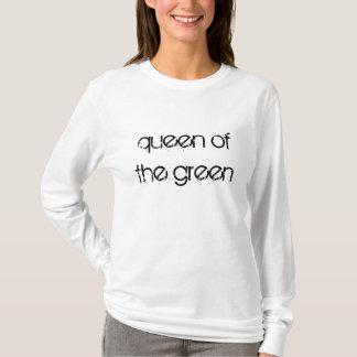 Königin des grünen Snooker zitiert T - Shirt