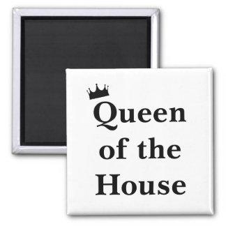Königin des Haus-Magneten Quadratischer Magnet