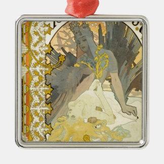Königin des Winters Silbernes Ornament