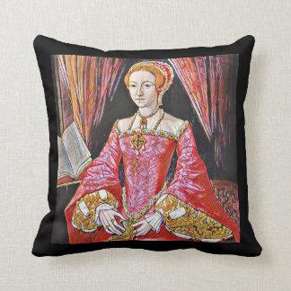 Königin Elizabeth I Kissen