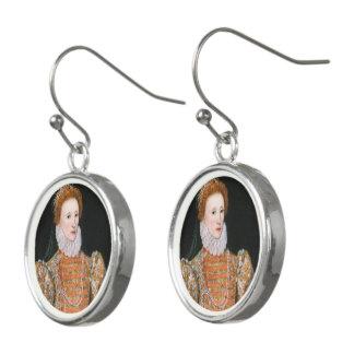 Königin Elizabeth - Tropfen-Ohrringe Ohrringe