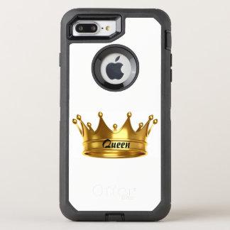 Königin-Gold u. weißer Otterbox Kasten OtterBox Defender iPhone 7 Plus Hülle