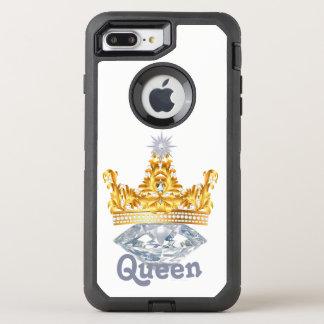 Königin-Goldkrone u. Diamanten, Otterbox Fall OtterBox Defender iPhone 7 Plus Hülle