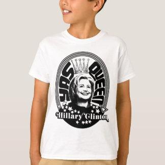 Königin Hillary Clintons Yas T-Shirt