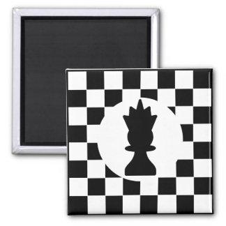 Königin-Schach-Stück - Magnet -