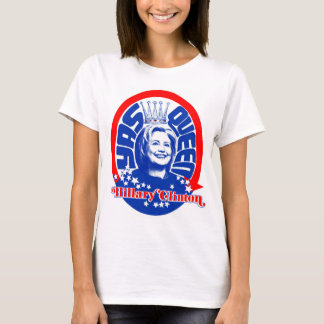 Königin-Shirt-Farbe Hillary Clinton Yas T-Shirt