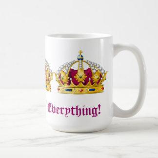 Königin von alles! tasse