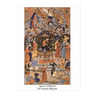 Königin von Sheba durch persische Meister Postkarte