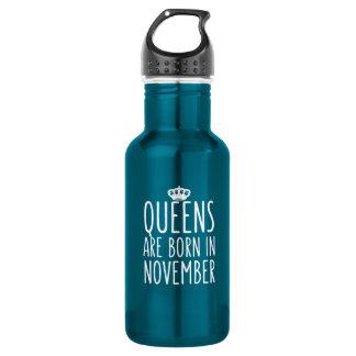 Königinnen sind im November geboren Trinkflasche