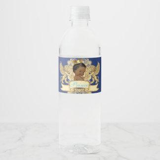 Königliche afrikanische Wasser-Flaschen-Aufkleber