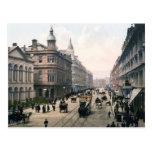 Königliche Allee Belfast Co. Antrim, Irland 1890 Postkarten