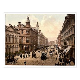 Königliche Allee. Belfast. Co. Antrim, Irland Postkarte