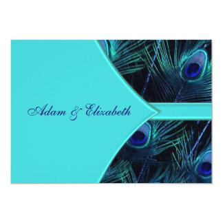 Königliche aquamarine blaue 12,7 x 17,8 cm einladungskarte