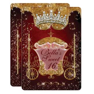 Königliche Bling Prinzessin Party Einladungen