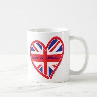 Königliche Hochzeit/Kate u. William Kaffeetasse