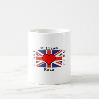 Königliche Hochzeits-Tasse Tasse