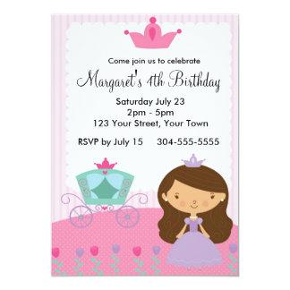 Königliche Prinzessin Birthday Party Individuelle Einladungskarten