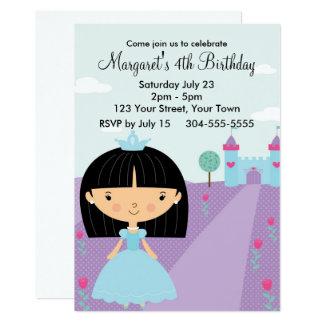 Königliche Prinzessin Birthday Party Karte