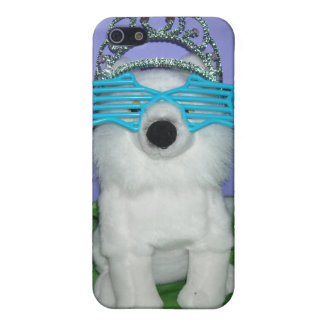 Königliche Prinzessin Humor/Tiara iPhone 5 Schutzhülle