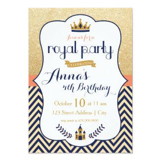 Königliche Prinzessin Party Einladung