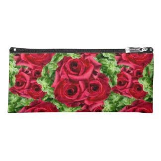 Königliche Rosen-königliche Romance hochrote Stiftetasche