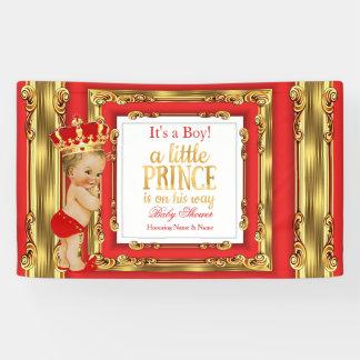 Königliche rote Goldblondine Banner