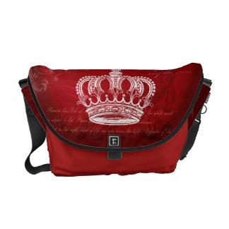 Königlicher Bloodline - Rot Kurier Taschen