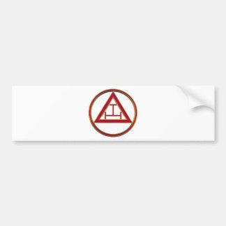 Königlicher Bogen-DreiergruppeTau Autoaufkleber
