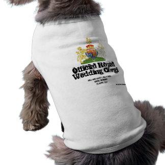 Königlicher Hochzeitcorgi-Mantel - klarerer Schrif Shirt