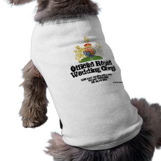 Königlicher Hochzeitcorgi-Mantel - Rockstarhund T-Shirt