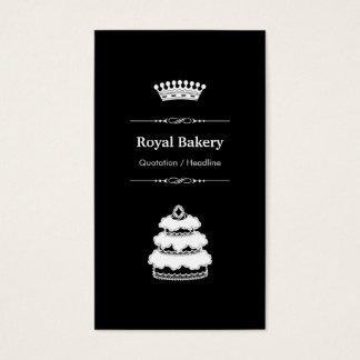 Königlicher Hochzeits-Kuchen - berufliche Visitenkarten