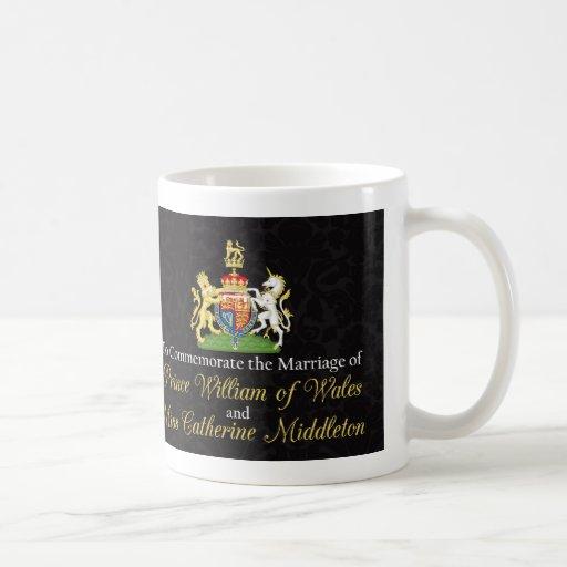 Königlicher Hochzeits-Kuss Williams und Kate Tee Haferl