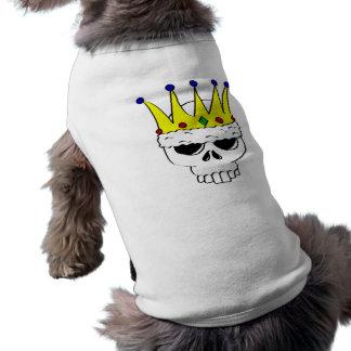 Königlicher Schädel-Haustier-T - Shirt