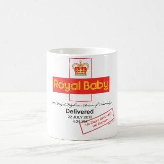 Königliches Baby-notierte Lieferung Kaffeetasse