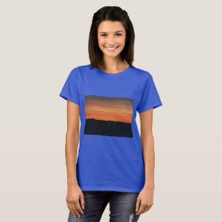 Königliches Blau-T - Shirt mit