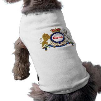 Königliches Emblem ~ Hundekleid Shirt